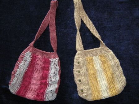 Hairpin Lace Bags