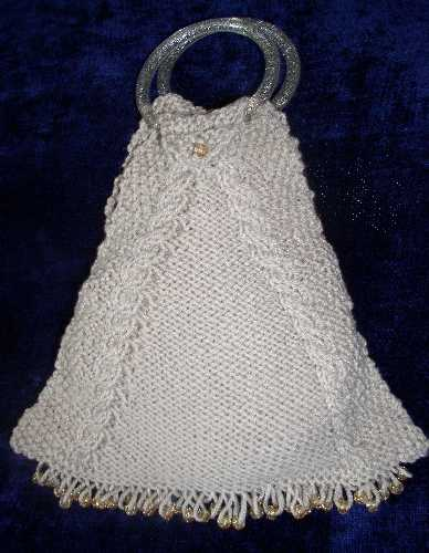 Ring-Handled Triangle Bag