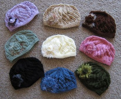 Lace Beret Group Picture
